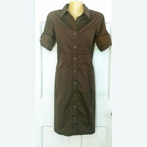 Merona Shirt Dress - Gorgeous tailored look!